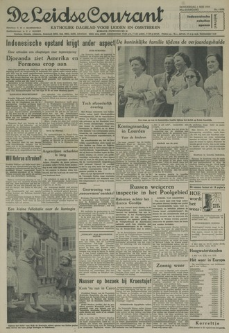 Leidse Courant 1958-05-01