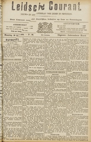 Leydse Courant 1890-04-28
