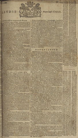 Leydse Courant 1760-10-13