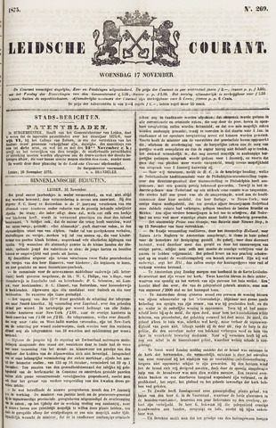 Leydse Courant 1875-11-17