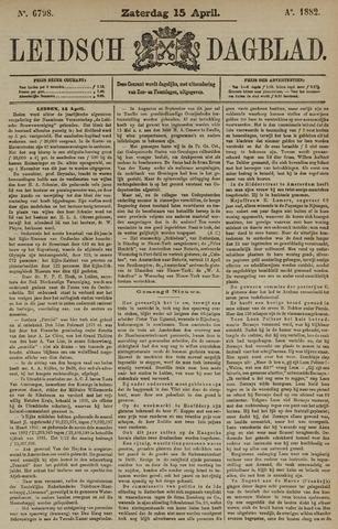 Leidsch Dagblad 1882-04-15