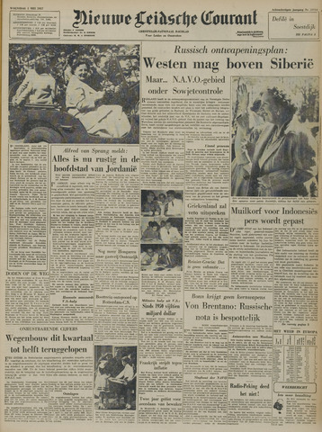 Nieuwe Leidsche Courant 1957-05-01
