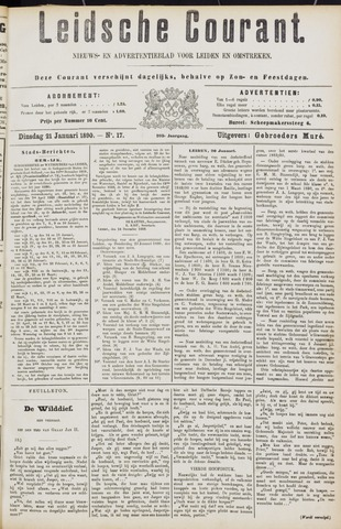 Leydse Courant 1890-01-21