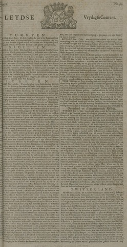 Leydse Courant 1722-08-07