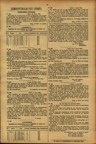Handelingen van de Raad 1895-03-23