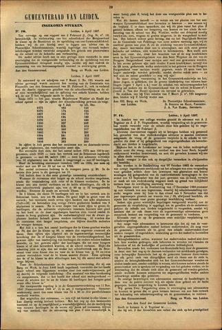 Handelingen van de Raad 1887-04-04
