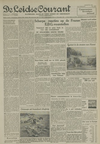 Leidse Courant 1954-08-17