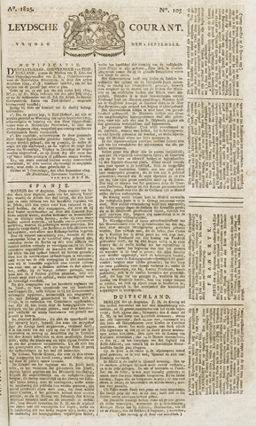 Leydse Courant 1825-09-02
