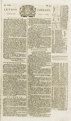 Leydse Courant 1819-07-07
