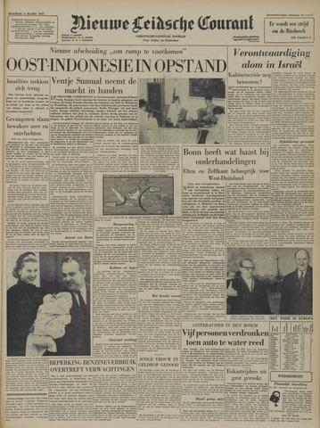 Nieuwe Leidsche Courant 1957-03-04