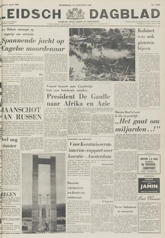 Leidsch Dagblad 1966-08-25