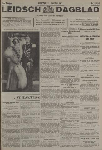 Leidsch Dagblad 1937-08-11