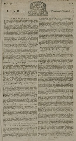 Leydse Courant 1736-01-04