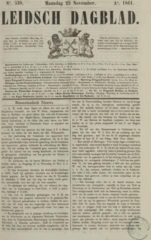 Leidsch Dagblad 1861-11-25
