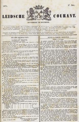 Leydse Courant 1871-12-28
