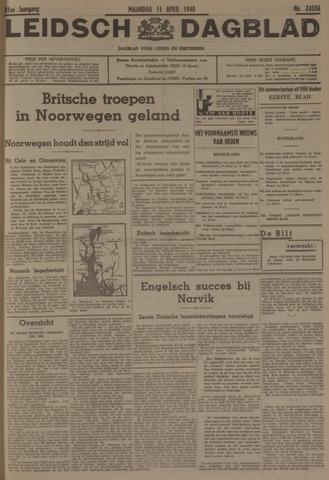Leidsch Dagblad 1940-04-15