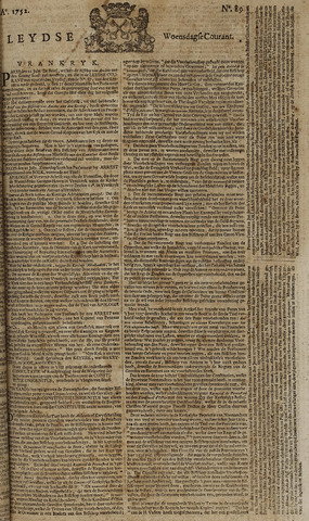 Leydse Courant 1752-07-26