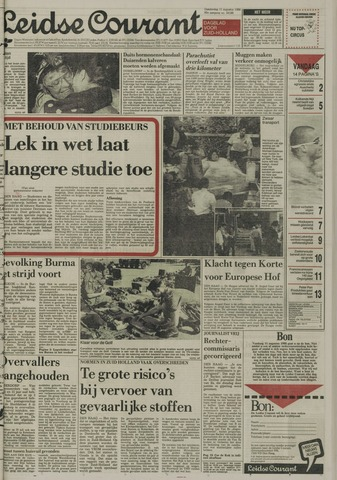 Leidse Courant 1988-08-11