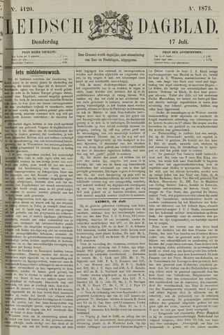 Leidsch Dagblad 1873-07-17
