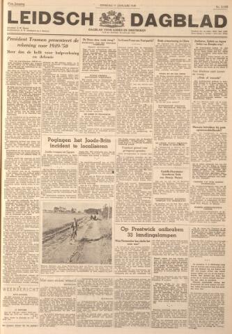Leidsch Dagblad 1949-01-11