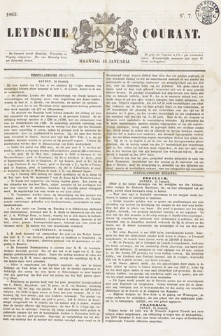 Leydse Courant 1865-01-16