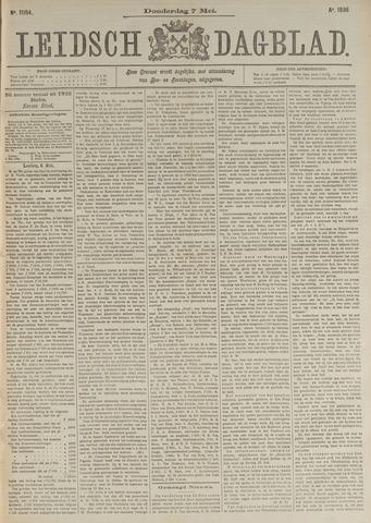 Leidsch Dagblad 1896-05-07