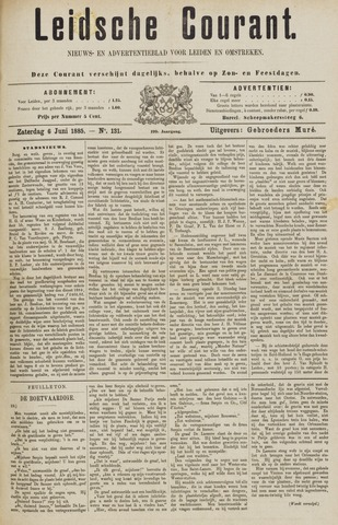 Leydse Courant 1885-06-06