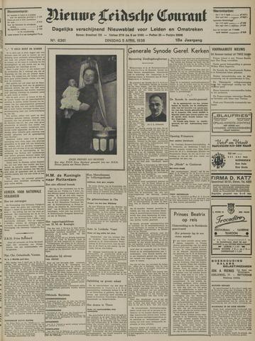 Nieuwe Leidsche Courant 1938-04-05