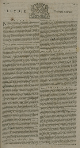 Leydse Courant 1725-03-09
