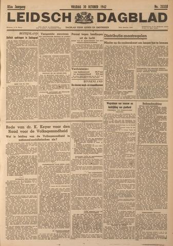 Leidsch Dagblad 1942-10-30