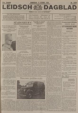 Leidsch Dagblad 1938-10-13
