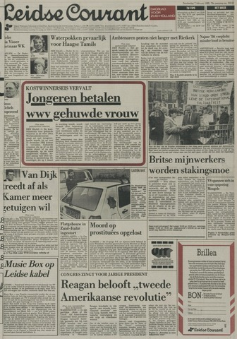 Leidse Courant 1985-02-07