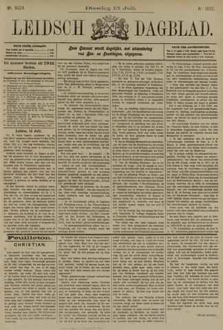 Leidsch Dagblad 1890-07-15