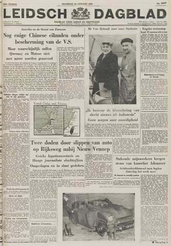 Leidsch Dagblad 1955-01-24