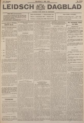 Leidsch Dagblad 1930-05-05
