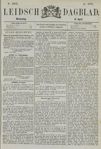 Leidsch Dagblad 1875-04-14