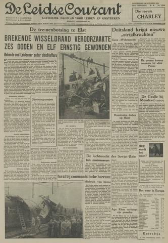 Leidse Courant 1954-10-14