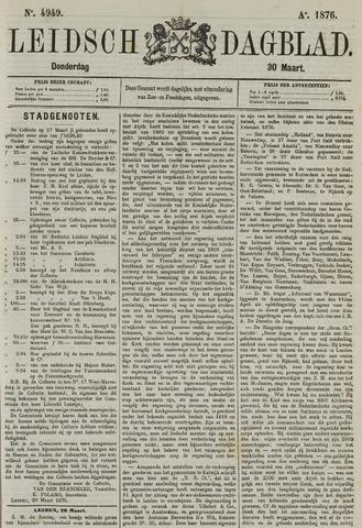 Leidsch Dagblad 1876-03-30