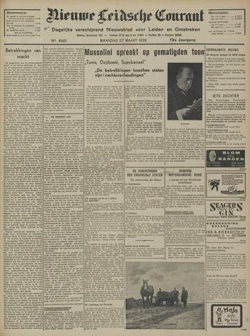 Nieuwe Leidsche Courant 1939-03-27