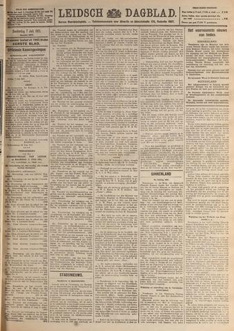 Leidsch Dagblad 1921-07-07