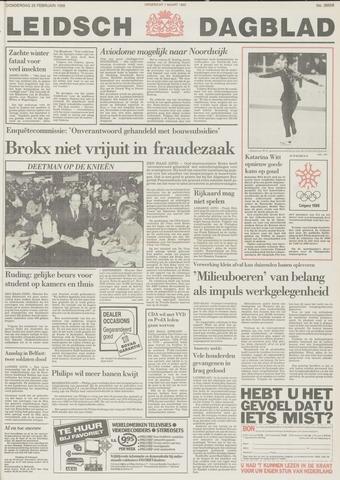 Leidsch Dagblad 1988-02-25