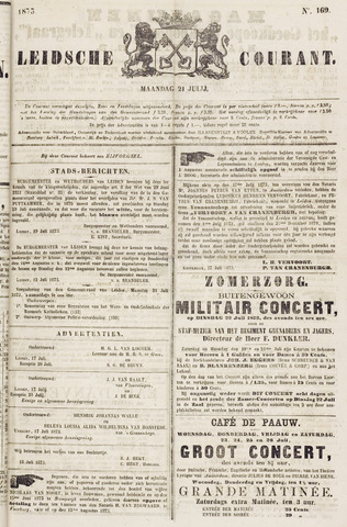 Leydse Courant 1873-07-21