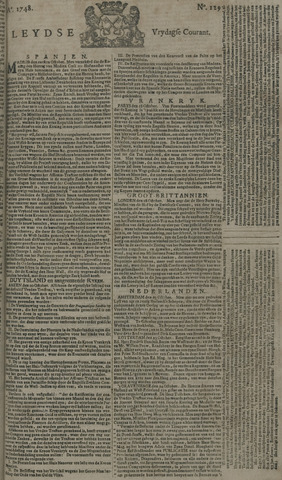 Leydse Courant 1748-10-25
