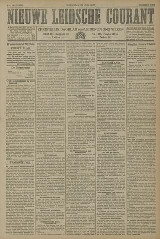 Nieuwe Leidsche Courant 1927-06-22