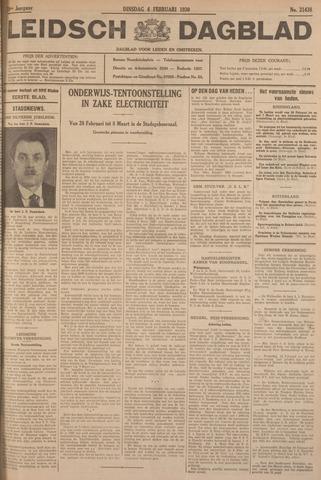 Leidsch Dagblad 1930-02-04