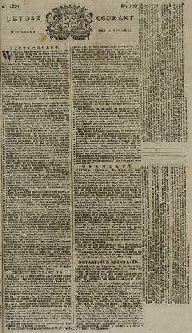 Leydse Courant 1805-11-20