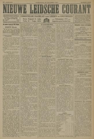 Nieuwe Leidsche Courant 1927-12-29