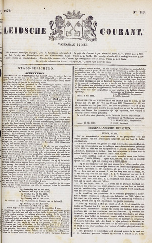 Leydse Courant 1879-05-14