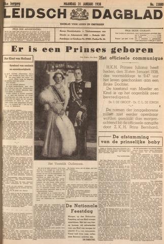 Leidsch Dagblad 1938-01-31