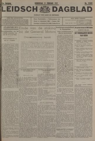 Leidsch Dagblad 1937-02-11